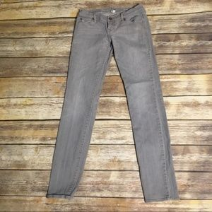 Abercrombie & Fitch Gray Jeans Skinny